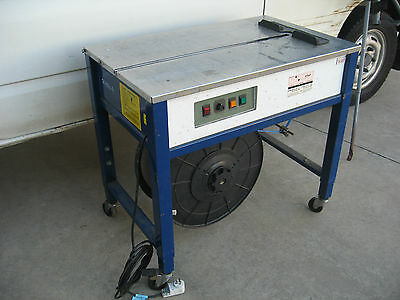 """Semi Automatic Strapping Machine & Strapping Exs-250 """"ex Liquidation"""""""