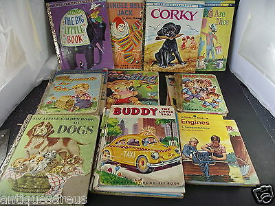 Childrens Book Lot  Frosting Whitman ,jingle Bell Jack, Little Golden Books
