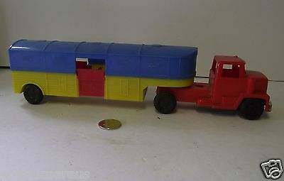 Jimson Hong Kong Horse Or Cattle Toy Truck Friction Toy #108