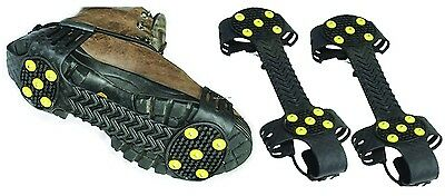 **NEW K&E Cruncher Full Boot Ice Fishing Creepers Cleats M/L GRP230M