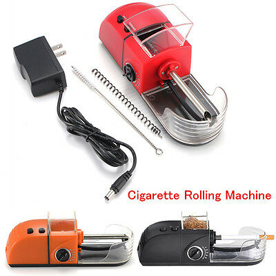 New Automatic Electric Cigarette Rolling Injector Tobacco Roller Maker Machine