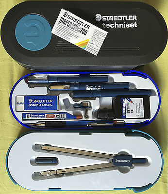NEW STAEDTLER MARS techniset - technical drawing set with case