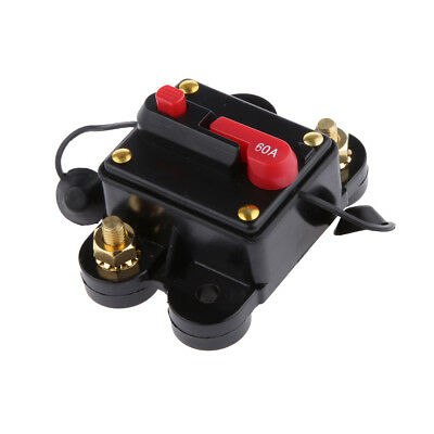 60 AMP Manual Reset Circuit Breaker Switch 12v Car Boat Power Protection