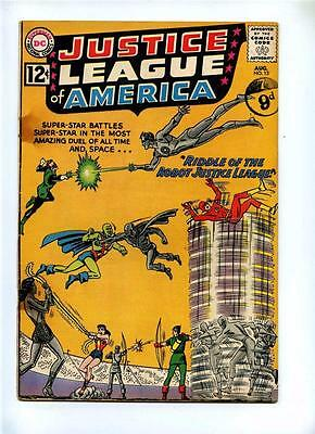 Justice League of America #13 - DC 1962 - GD - Speedy App