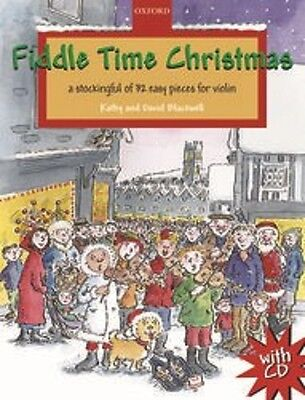 Fiddle Time Christmas Book & CD