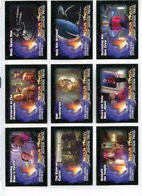 Star Trek DS9 Series Premiere - Complete Set + Cert Card + Others - SkyBox 1993