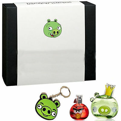 Angry Birds King Pig Set Regalo Profumo EDP 50ml + Miniatura 5ml + Portachiavi