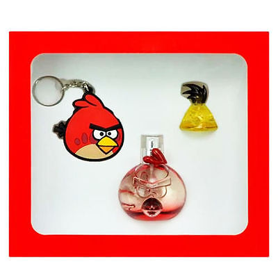 Angry Birds Red Bird Set Regalo Profumo EDP 50ml + Miniatura 5ml + Portachiavi
