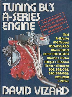 A.healey Sprite Mg Midget Minor Mini Bmc 1100 1300 A-Series Engine Tuning Manual