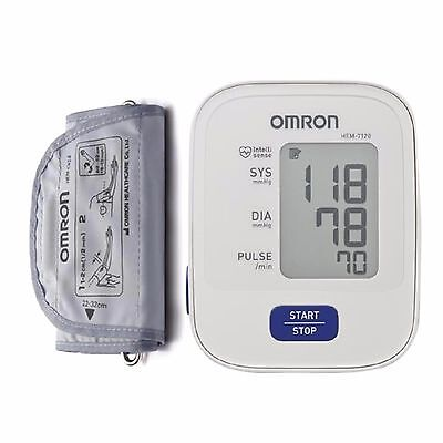 OMRON M2 BASIC HEM-7120-E Digital Upper Arm Automatic Blood Pressure Monitor