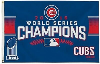 3x5' Chicago Cubs World Series 2016 Flag NEW officially licensed