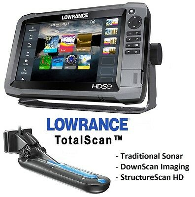 Lowrance HDS 9 Gen 3 Touch Screen with TotalScan Transducer  AUSTRALIAN WARRANTY