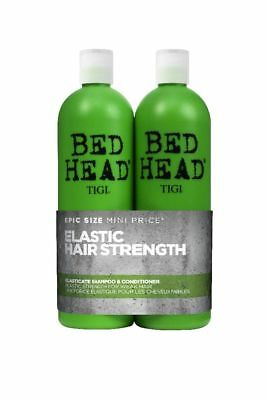 Tigi Bed Head Elastic Hair Strength Tween Duo 750ml Shampoo & 750ml Conditioner