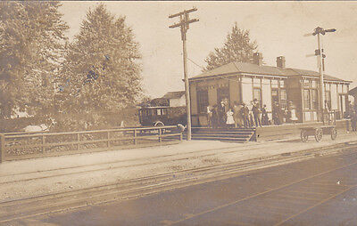 RP: BERRYVILLE, Virginia, PU-1906 ; Railroad Train Depot