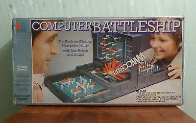 Vintage Electronic Computer Battleship Game. By MB GAMES. 1970's.