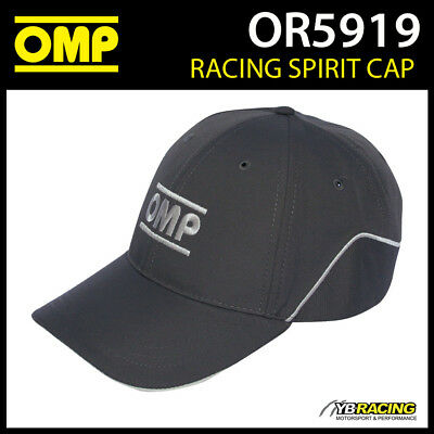 OR5919 OMP Racing Spirit Sports Cap 100% Cotton in Anthracite Adult Size