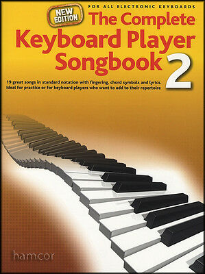 The Complete Keyboard Player Songbook 2 NEW 2014 EDITION Sheet Music Book