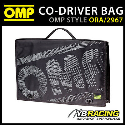 ORA/2967 OMP Rally Co-Driver Navigator Sports Bag 44x6x25cm New Updated Version