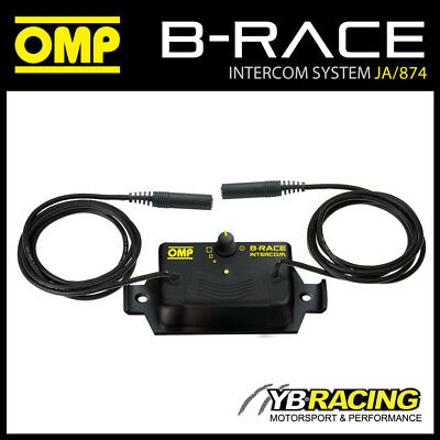 NEW! JA/874 OMP B-RACE INTERCOM IN CAR SOUND SYSTEM CONTROL BOX for RACE RALLY