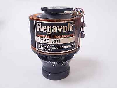 Claude Lyons Regavolt 301 Variable Transformer, 240V In, 0-240 Out, 0.5A