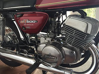 Suzuki GT500 Twin in Outstanding Condition.