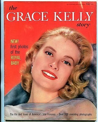The Grace Kelly Story #1 1957- magazine 100+ pictures royal baby