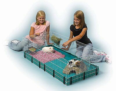 Midwest Expandable Guinea / Hamster Habitat, Small Animal Cage to Keep Pet, New