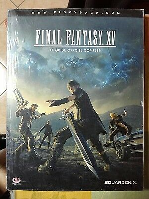 Guide officiel Final Fantasy XV 15 Neuf sous blister Ps4 Xbox One