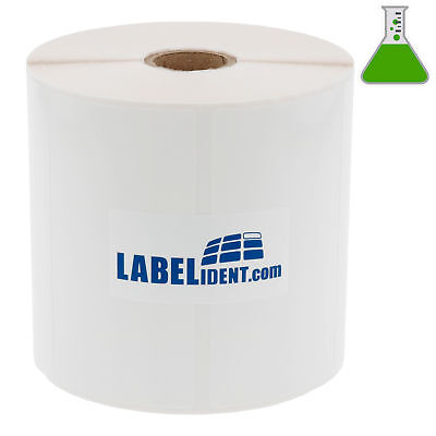 Thermotransfer Etiketten auf Rolle 105x52mm 1000 St Folie Chemgard