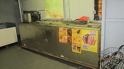 Ice cream truck cold Plate Freezer  HUGE 4 full lids doors