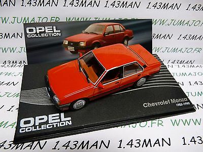 OPE116R voiture 1/43 IXO OPEL collection : CHEVROLET  MONZA 1982/1990