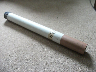 """1930's - 1940's Players Cigarettes large window display cigarette 34"""" long"""