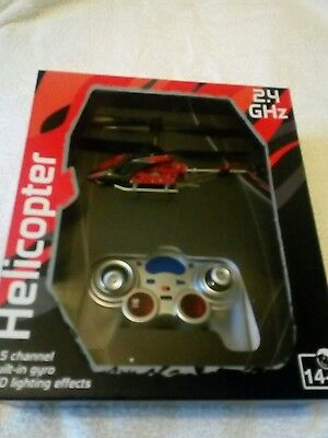 RC helicopter led light effects 2.4 new unopened bargin