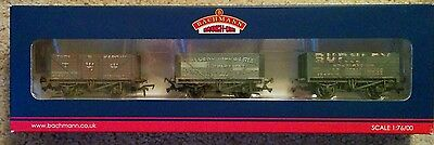 Bachmann 37-095 set of 3 Northern Private Owners Wagons weathered
