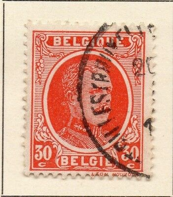 Belgium 1922-24 Early Issue Fine Used 30c. 124548