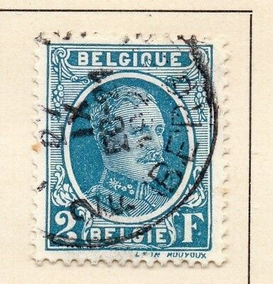 Belgium 1926-27 Early Issue Fine Used 2F. 124562