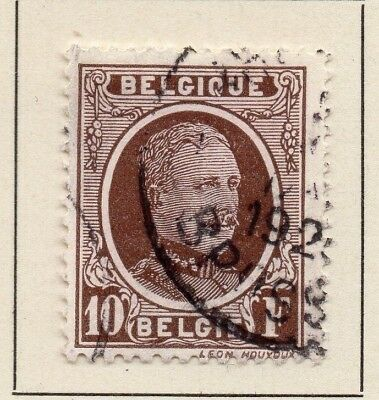 Belgium 1926-27 Early Issue Fine Used 10F. 124564