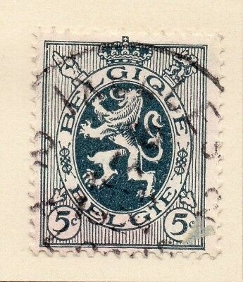 Belgium 1929 Early Issue Fine Used 5c. 124596