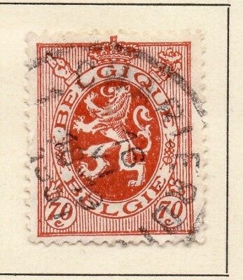 Belgium 1930 Early Issue Fine Used 70c. 124615