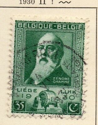 Belgium 1930 Early Issue Fine Used 35c. 124621