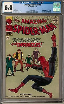 Amazing Spider-Man #10 CGC 6.0 (C-OW) 1st Big Man & the Enforcers