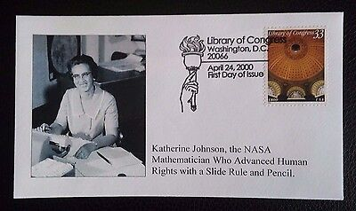 Katherine Johnson - First Day Of Issue Envelope