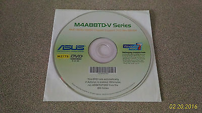 """""""Genuine"""" ASUS M4A88TD-V Series Motherboard Drivers Installation DVD"""