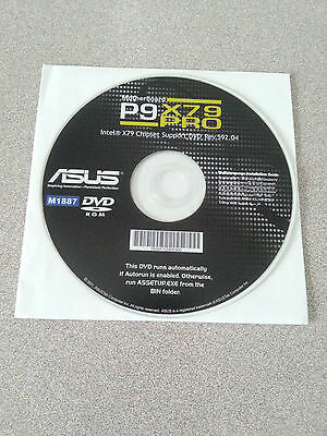 """""""Genuine"""" ASUS P9X79 Pro Motherboard  Installation Driver DVD"""