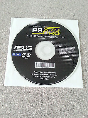 """""""NEW"""" ASUS P9X79 Pro Motherboard Drivers Installation DVD"""
