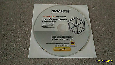 """NEW"" Gigabyte Intel 7 Series Motherboard Utilities Installation Disc"