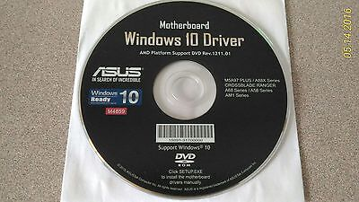 """NEW"" ASUS Windows 10 Motherboard Drivers Installation DVD"