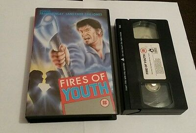 FIRES OF YOUTH   Rare ex rental big box vhs/video