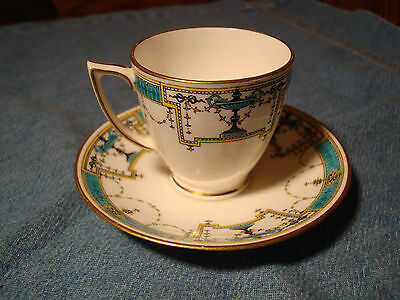 Cute Little Mintons Demitasse Cup And Saucer