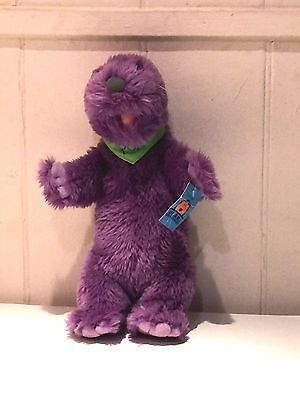 Pop soft Plush Toy Cuddly Teddy Bear in the Big Blue House complete with TAGS